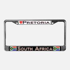Pretoria, SOUTH AFRICA - License Plate Frame
