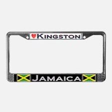 Kingston, JAMAICA - License Plate Frame