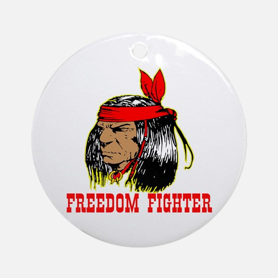 Freedom Fighter Ornament (Round)