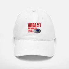AREA 51 TOP SECRET, Baseball Baseball Cap