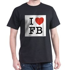 I Heart FB T-Shirt