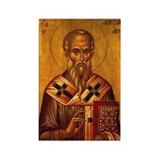 Saint Alexander Icon Rectangle Magnet (10 pack)