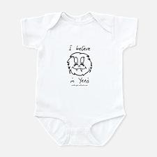I believe in Yetis Infant Bodysuit