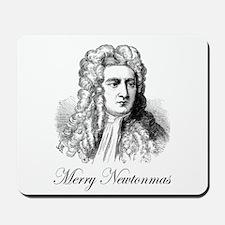 Merry Newtonmas Mousepad