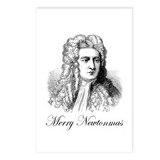 Merry Newtonmas Postcards (Package of 8)