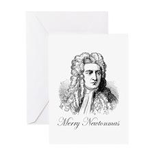 Merry Newtonmas Greeting Card