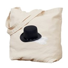 Top hat and gloves Tote Bag