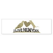 I Love New York Bumper Sticker (10 pk)