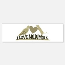 I Love New York Bumper Sticker (10 pk)