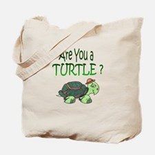turtle w/back design Tote Bag
