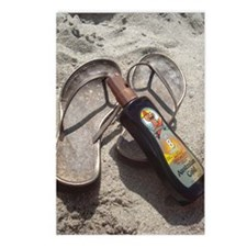 Flip Flop Beach Postcards (Package of 8)