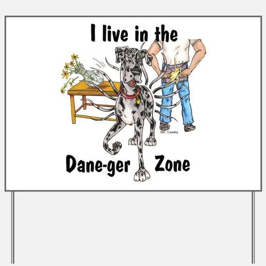 NMrl ILIT Dane-ger Zone Yard Sign