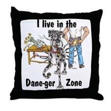 NMrl ILIT Dane-ger Zone Throw Pillow