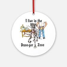 NMrl ILIT Dane-ger Zone Ornament (Round)
