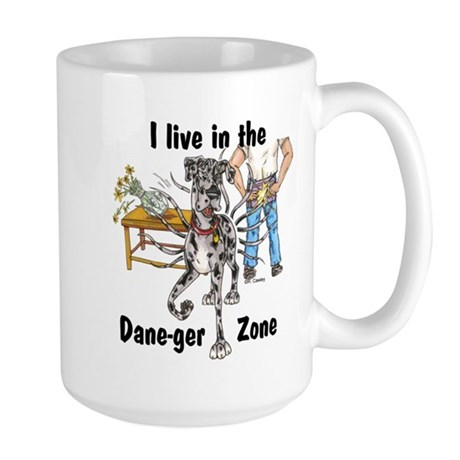 NMrl ILIT Dane-ger Zone Large Mug
