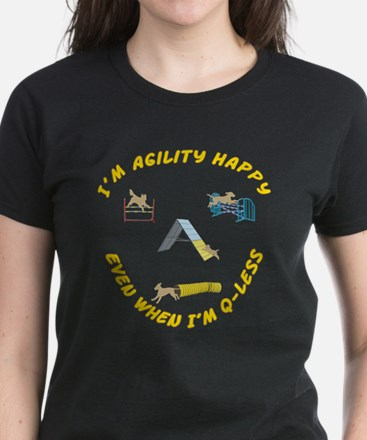 Agility Happy Women's Dark T-Shirt
