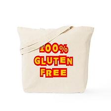 100% Gluten Free Tote Bag