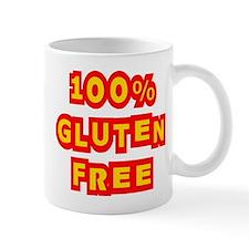 100% Gluten Free Small Mug