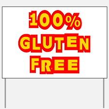 100% Gluten Free Yard Sign