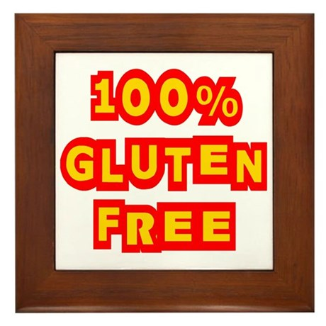 100% Gluten Free Framed Tile
