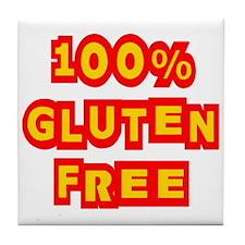 100% Gluten Free Tile Coaster