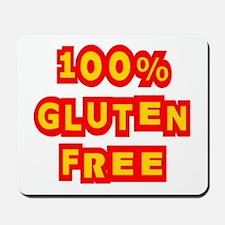 100% Gluten Free Mousepad