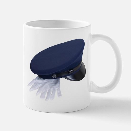 Uniform hat and gloves Mug