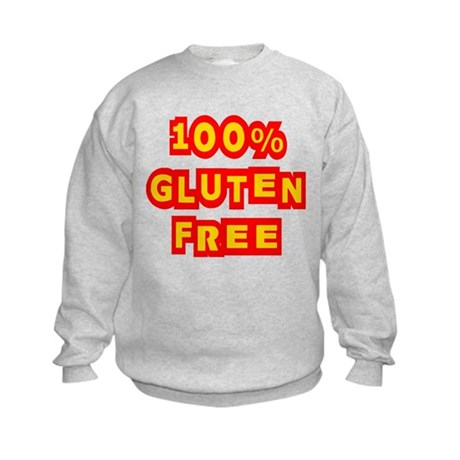 100% Gluten Free Kids Sweatshirt