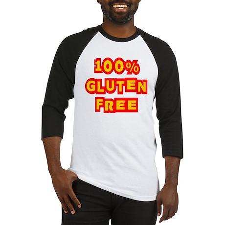 100% Gluten Free Baseball Jersey