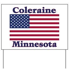 Coleraine Flag Yard Sign