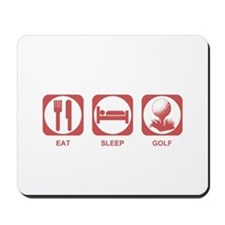 Eat Sleep Golf Mousepad