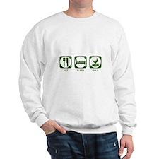 Eat Sleep Golf Sweatshirt