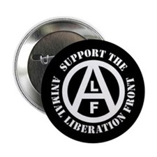 "Cute Animal liberation front 2.25"" Button"