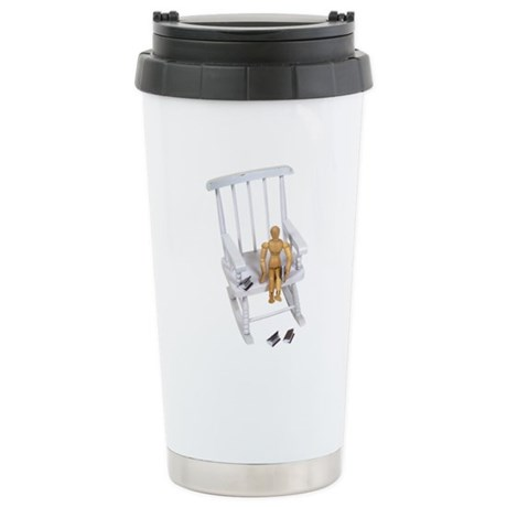 Reading time Stainless Steel Travel Mug