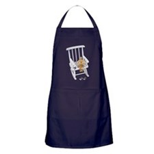 Reading time Apron (dark)