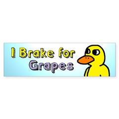 Duck Song Bumper Bumper Sticker