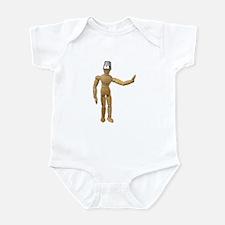 Thimble worn as a protective Infant Bodysuit