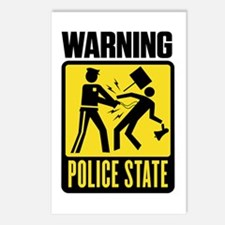 Warning: Police State Postcards (Package of 8)