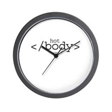hot body ~  Wall Clock