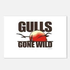 Gulls gone wild ~  Postcards (Package of 8)
