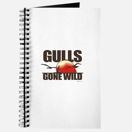 Gulls gone wild ~ Journal
