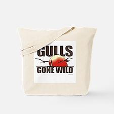 Gulls gone wild ~  Tote Bag