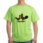 Polish Red Chickens Green T-Shirt