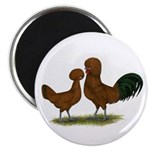 "Polish Red Chickens 2.25"" Magnet (100 pack)"