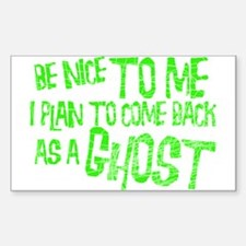 Ghosts & Paranormal Rectangle Decal