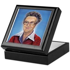 Cute Lucille Keepsake Box