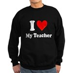 I Heart My Teacher: Sweatshirt (dark)