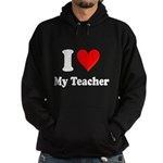 I Heart My Teacher: Hoodie (dark)