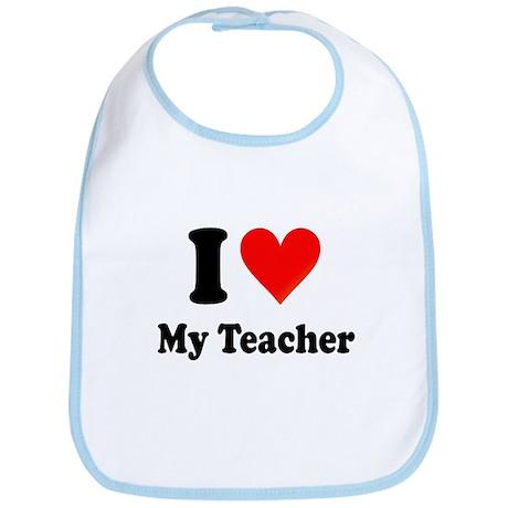 I Heart My Teacher: Bib