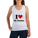 I Heart My Teacher: Women's Tank Top